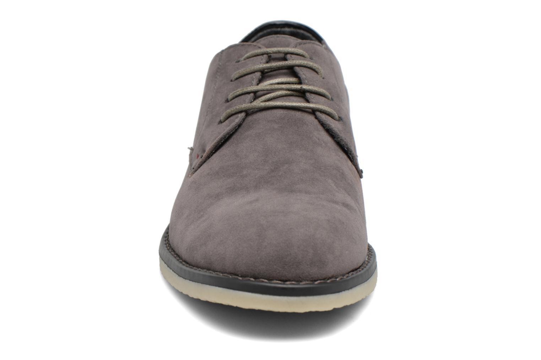 Schnürschuhe I Love Shoes SUPERBES grau schuhe getragen