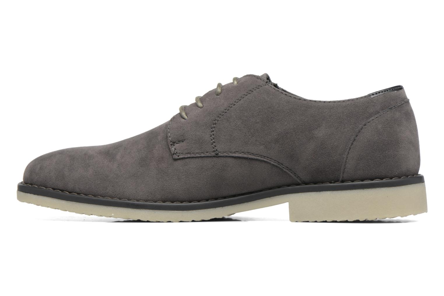 Veterschoenen I Love Shoes SUPERBES Grijs voorkant
