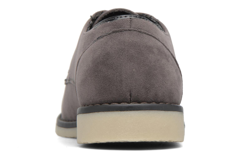 Chaussures à lacets I Love Shoes SUPERBES Gris vue droite