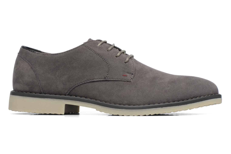 Schnürschuhe I Love Shoes SUPERBES grau ansicht von hinten