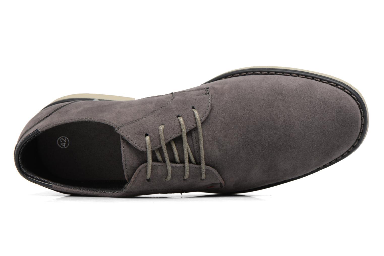 Zapatos con cordones I Love Shoes SUPERBES Gris vista lateral izquierda
