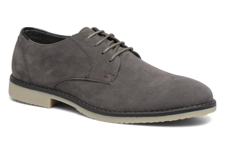 Veterschoenen I Love Shoes SUPERBES Grijs detail