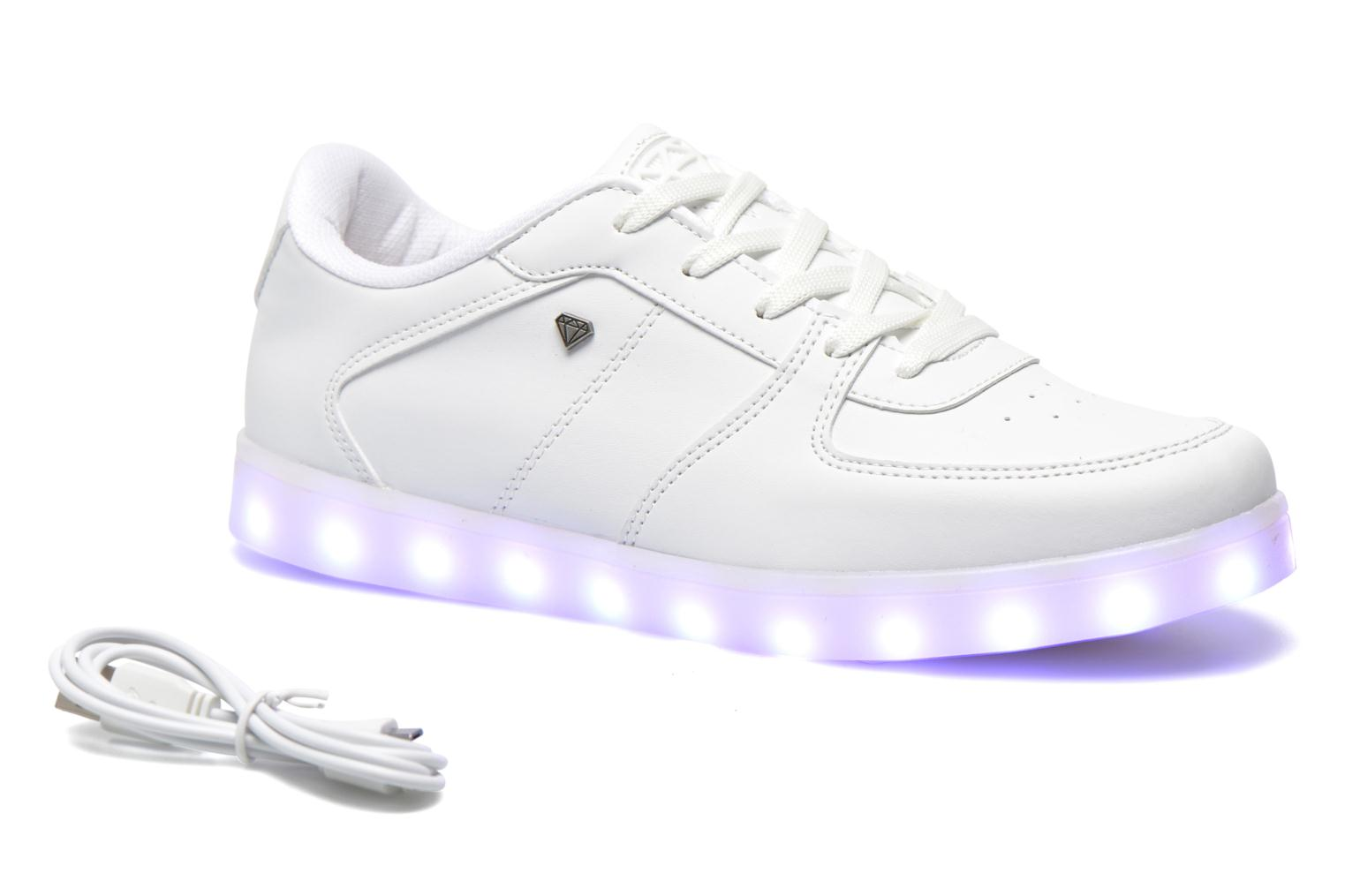 Baskets Cash Money CMC 37 Blanc vue détail/paire