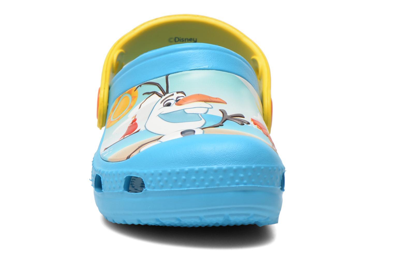 Sandalen Crocs CC Olaf Clog blau schuhe getragen