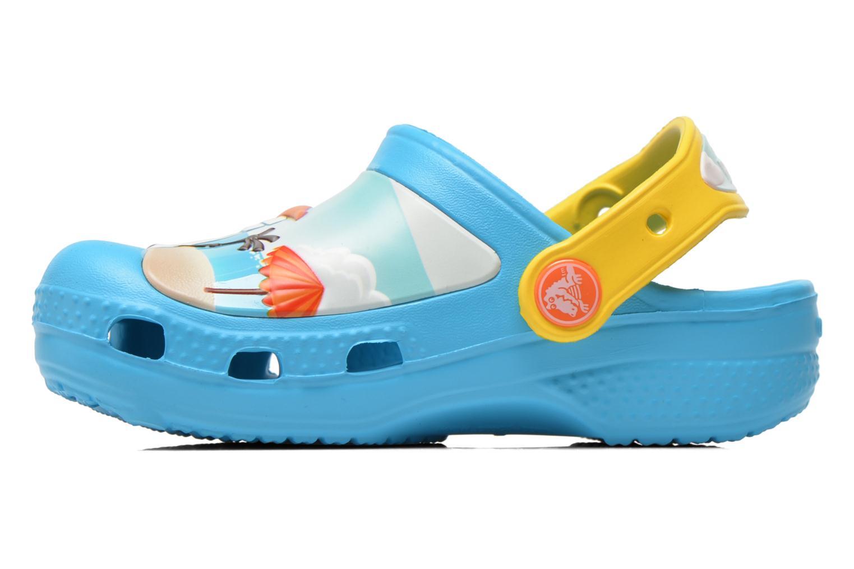Sandalen Crocs CC Olaf Clog blau ansicht von vorne