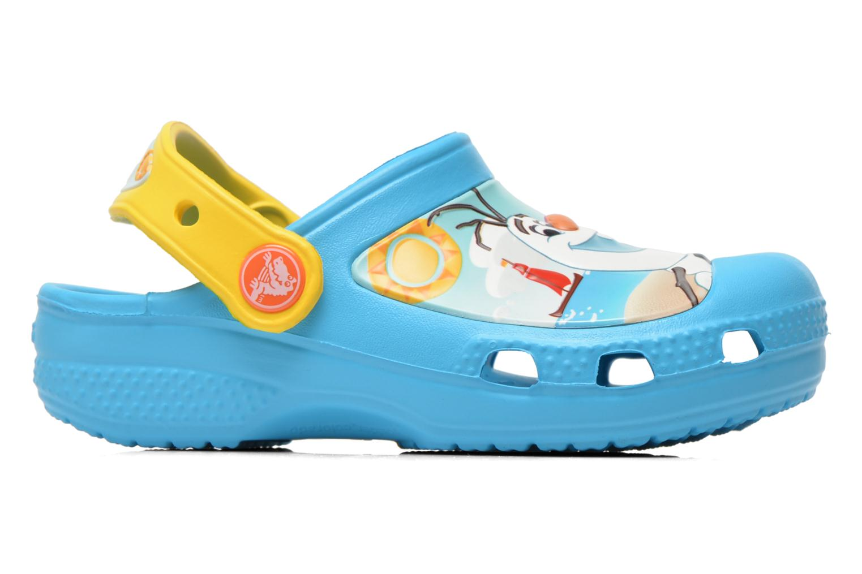 Sandalen Crocs CC Olaf Clog blau ansicht von hinten