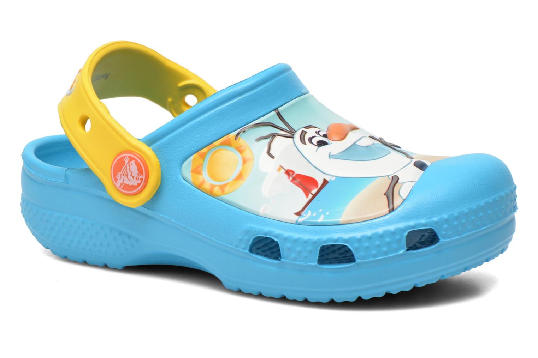 Sandalen Crocs CC Olaf Clog blau detaillierte ansicht/modell