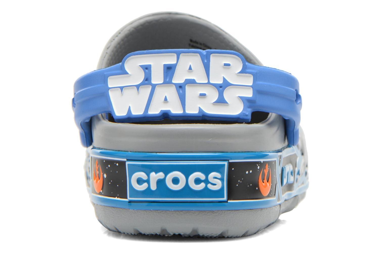 Sandales et nu-pieds Crocs CrocsLights StarWarsXwing Clog Gris vue droite