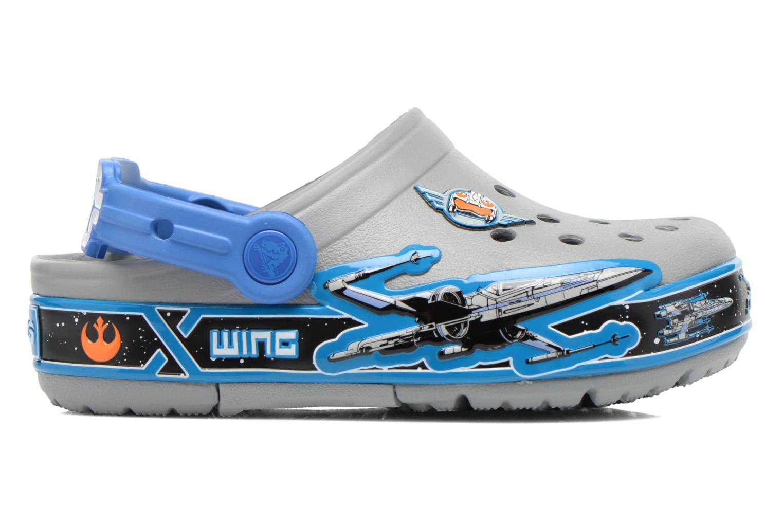Sandales et nu-pieds Crocs CrocsLights StarWarsXwing Clog Gris vue derrière