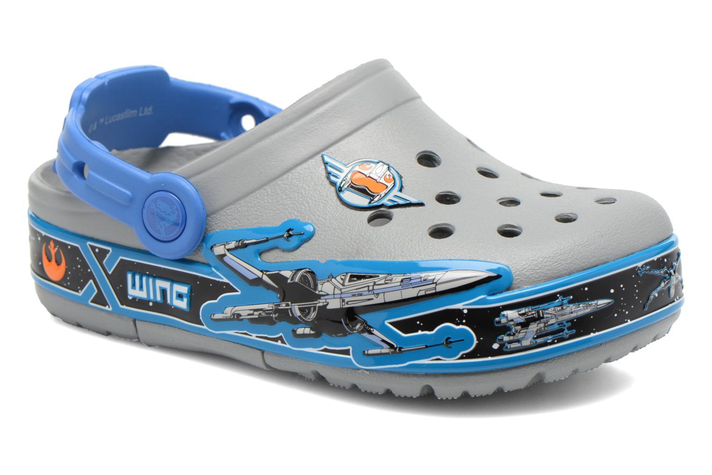 Sandales et nu-pieds Crocs CrocsLights StarWarsXwing Clog Gris vue détail/paire