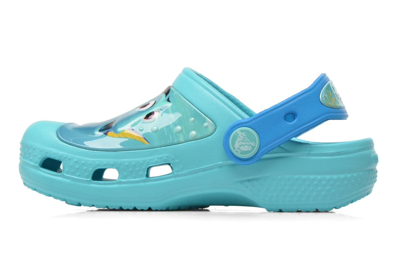 Sandali e scarpe aperte Crocs CC Finding Dory Clog K Azzurro immagine frontale