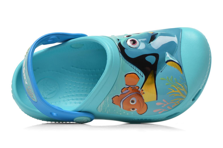 Sandali e scarpe aperte Crocs CC Finding Dory Clog K Azzurro immagine sinistra