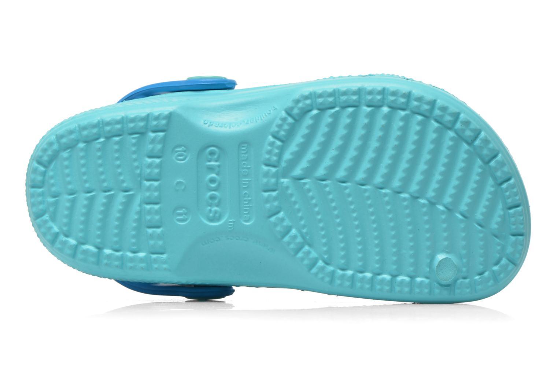 Sandali e scarpe aperte Crocs CC Finding Dory Clog K Azzurro immagine dall'alto