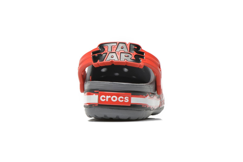Sandales et nu-pieds Crocs CB Star Wars Villain Clog K Gris vue droite