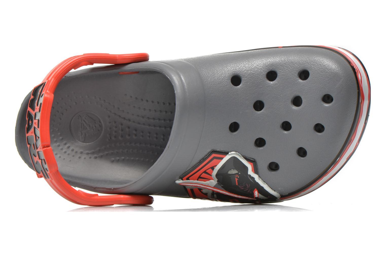 Sandales et nu-pieds Crocs CB Star Wars Villain Clog K Gris vue gauche
