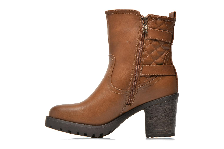 Stiefeletten & Boots Xti Analia-28730 braun ansicht von vorne