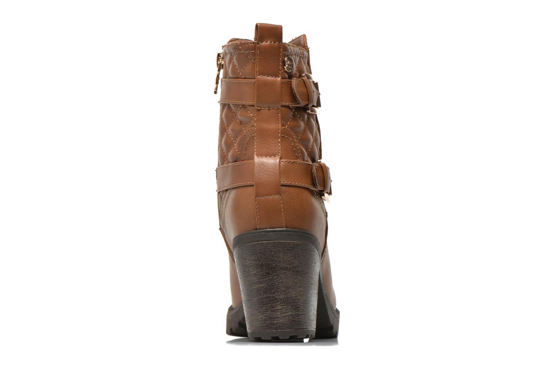 Bottines et boots Xti Analia-28730 Marron vue droite
