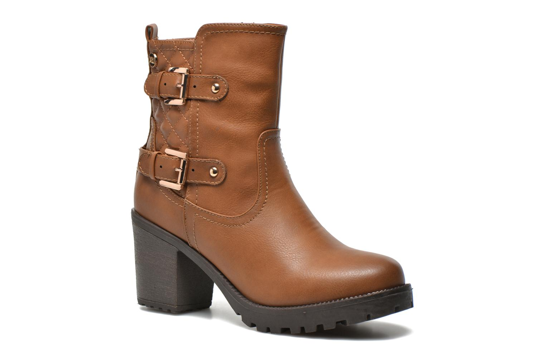 Bottines et boots Xti Analia-28730 Marron vue détail/paire