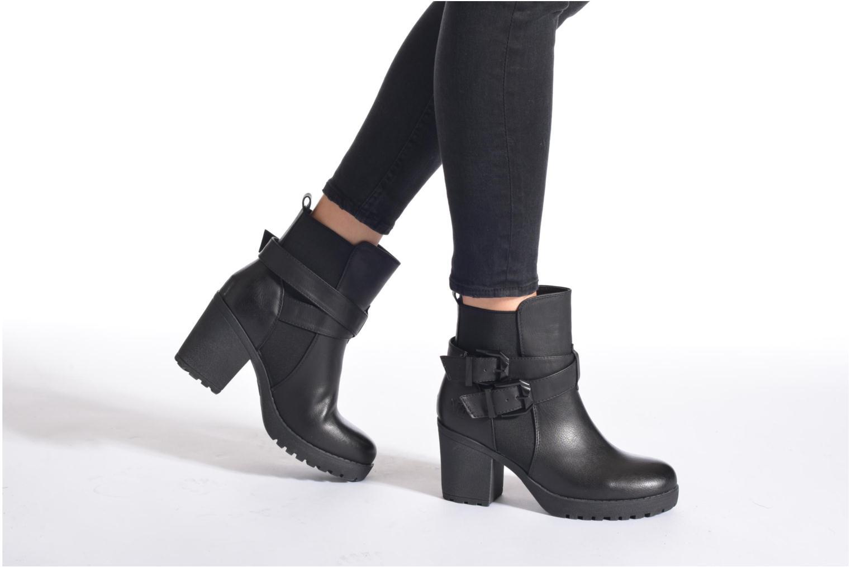 Stiefeletten & Boots Xti Inma-28768 schwarz ansicht von unten / tasche getragen