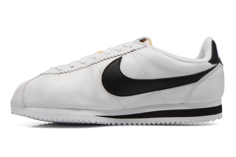 Sneaker Nike Classic Cortez Prem W weiß ansicht von vorne