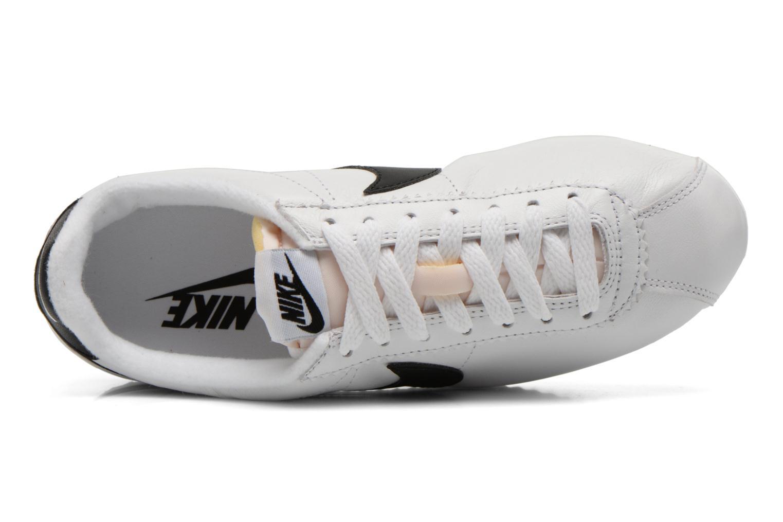 Sneaker Nike Classic Cortez Prem W weiß ansicht von links