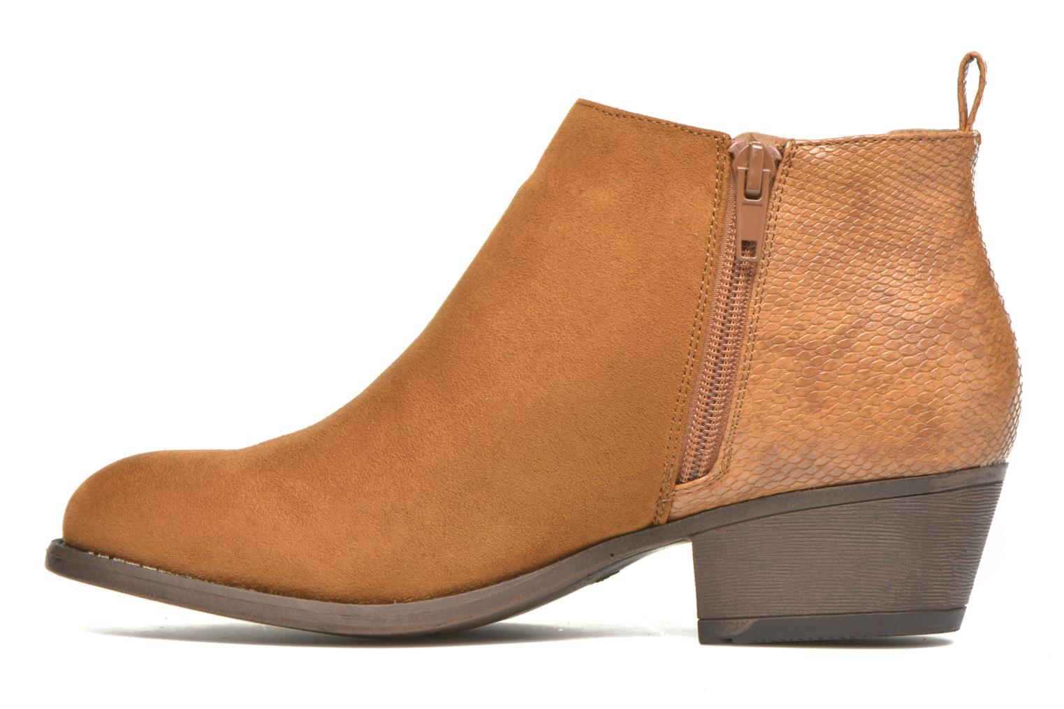 Ankle boots I Love Shoes THESARD Brown front view