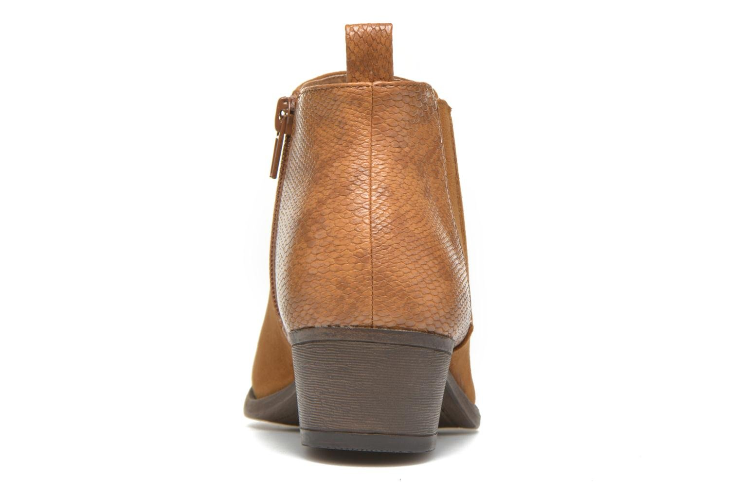 Ankle boots I Love Shoes THESARD Brown view from the right