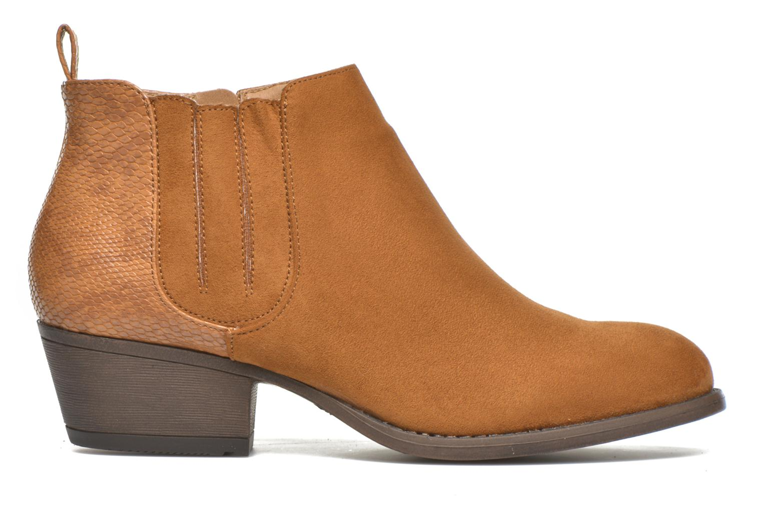 Ankle boots I Love Shoes THESARD Brown back view