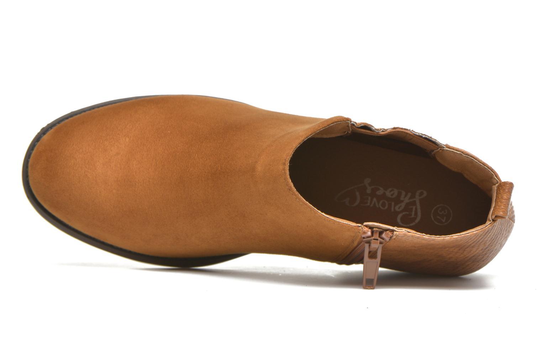 Botines  I Love Shoes THESARD Marrón vista lateral izquierda
