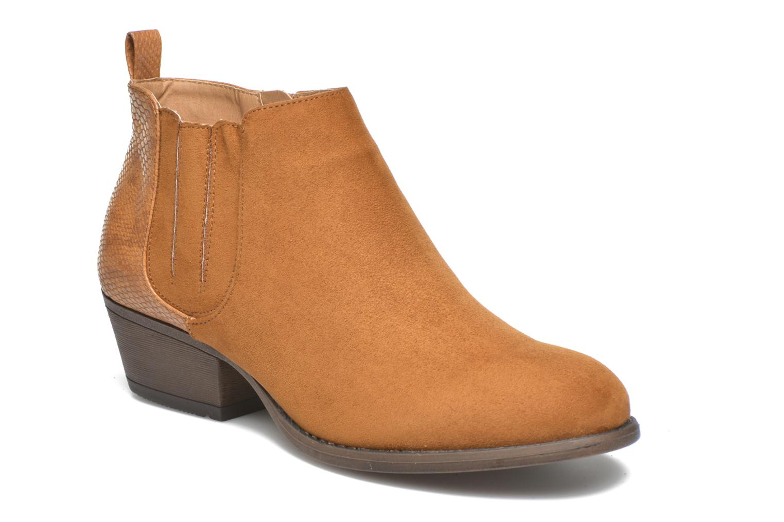 Ankle boots I Love Shoes THESARD Brown detailed view/ Pair view