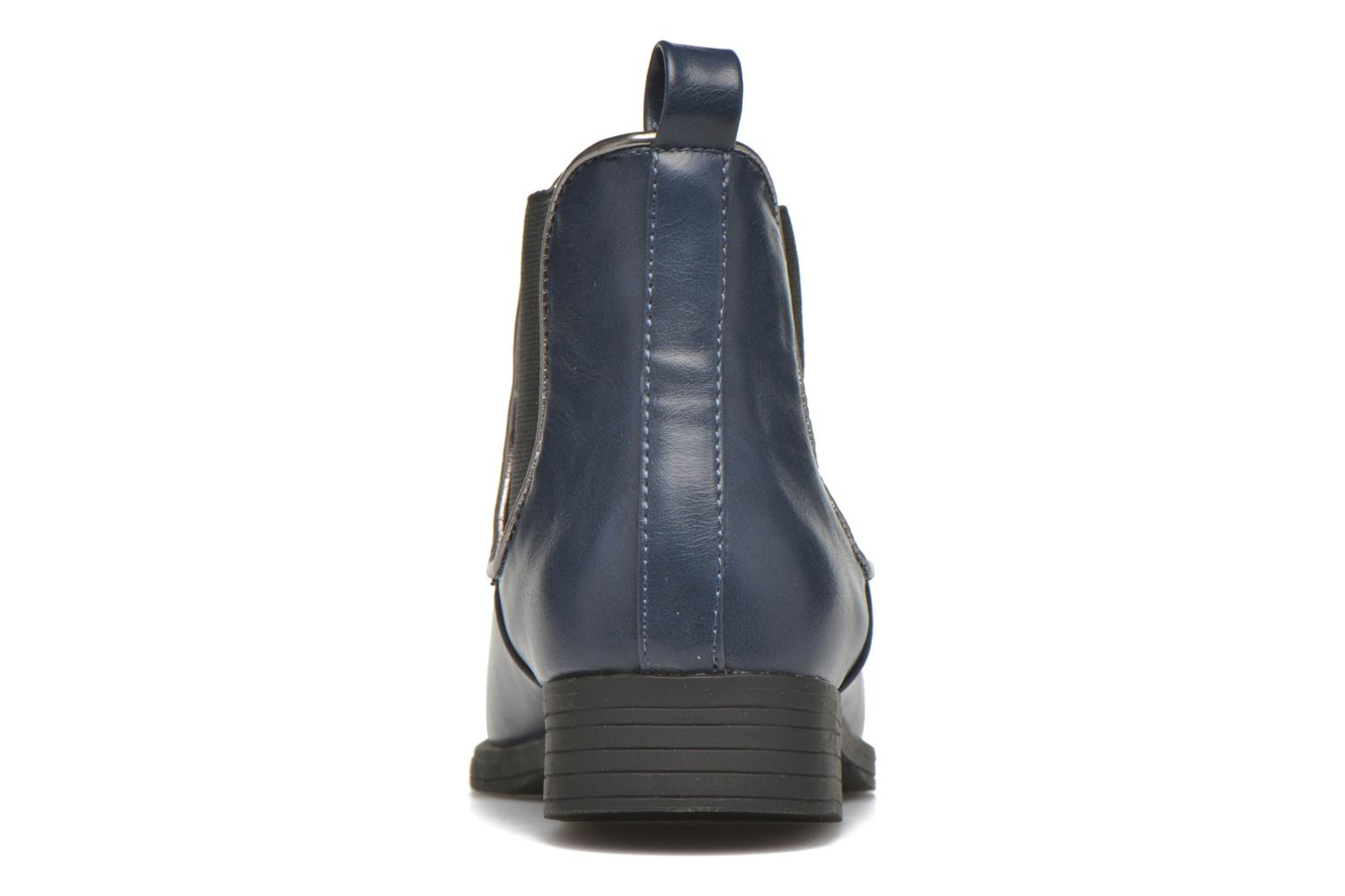 Ankle boots I Love Shoes MCKELSEA Blue view from the right
