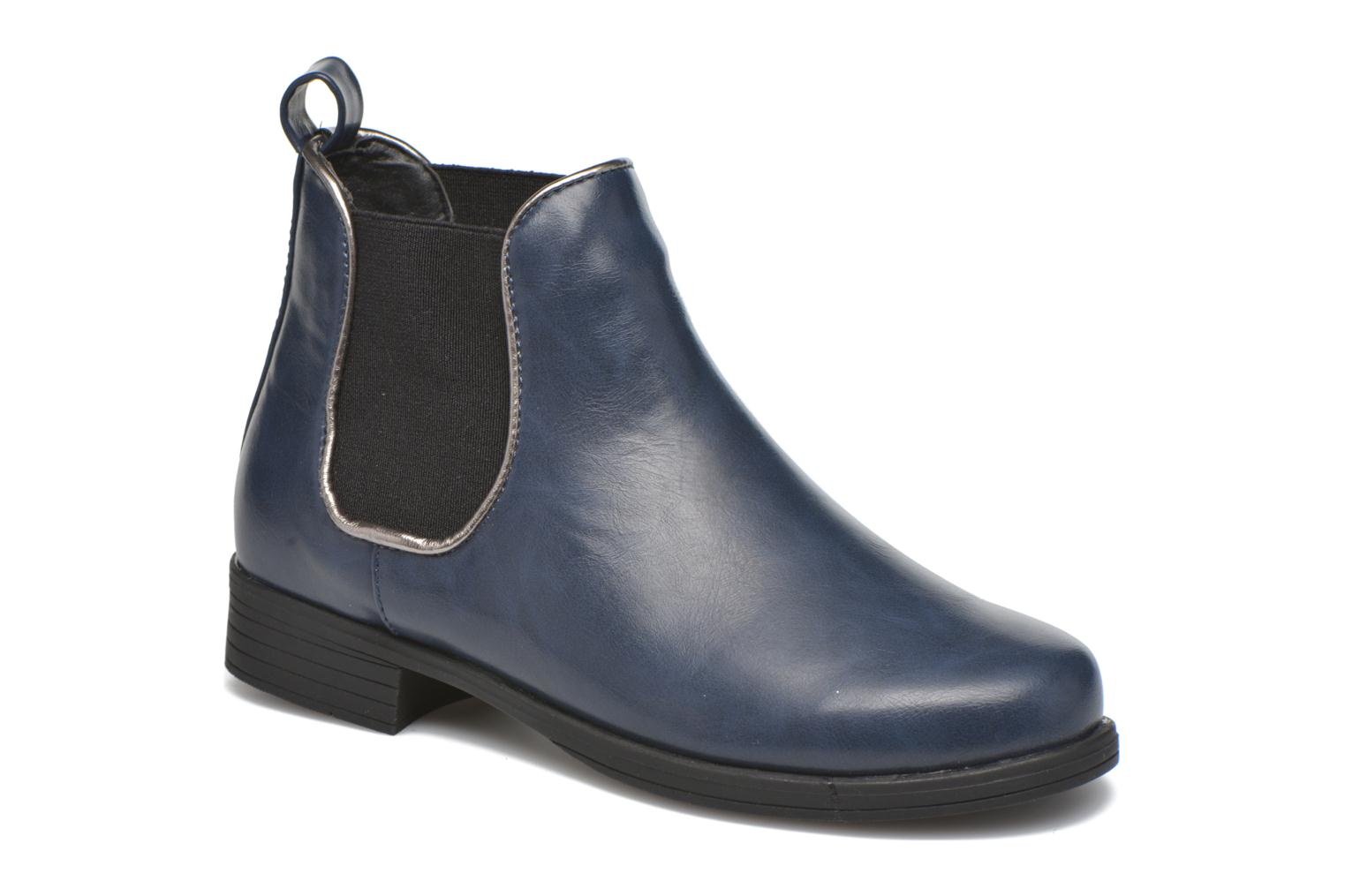Ankle boots I Love Shoes MCKELSEA Blue detailed view/ Pair view