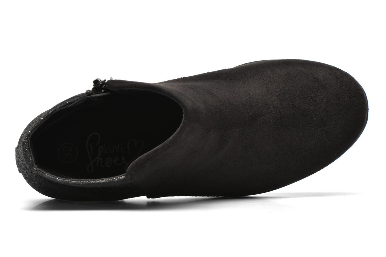 Botines  I Love Shoes MCGLIT Negro vista lateral izquierda
