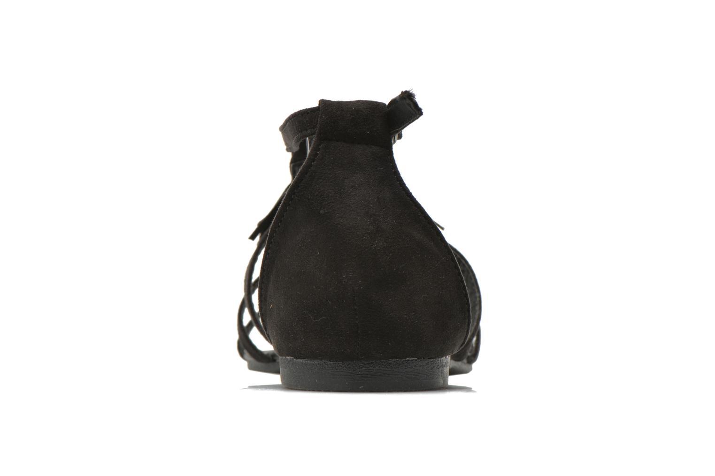 Sandales et nu-pieds I Love Shoes Kilia Noir vue droite