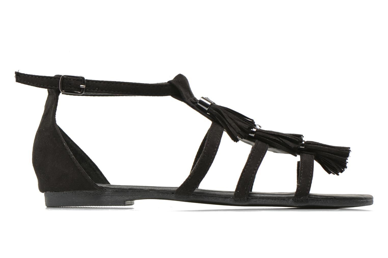 Sandales et nu-pieds I Love Shoes Kilia Noir vue derrière