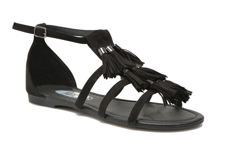 Sandales et nu-pieds I Love Shoes Kilia Noir vue détail/paire
