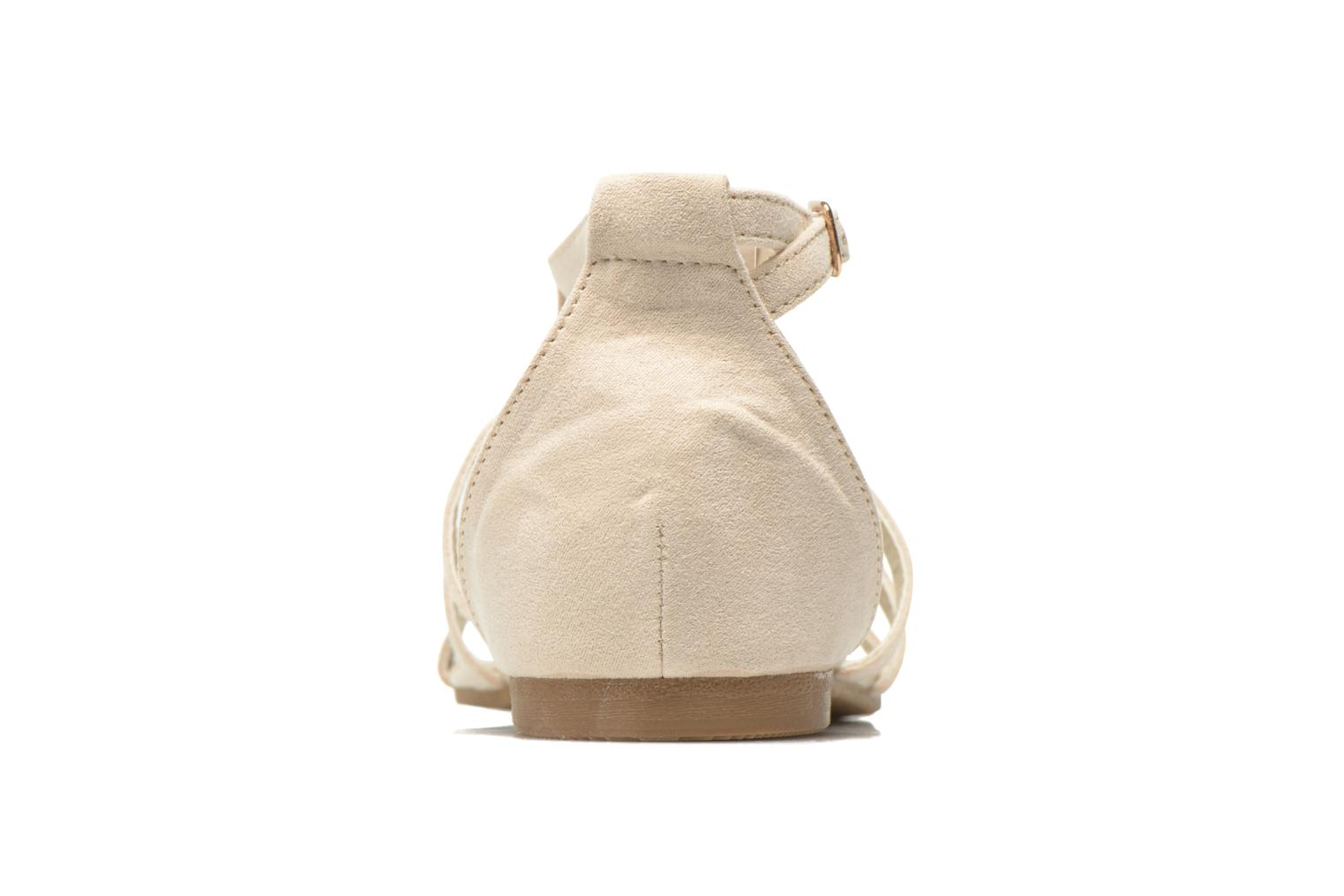 Sandals I Love Shoes Kilia Beige view from the right