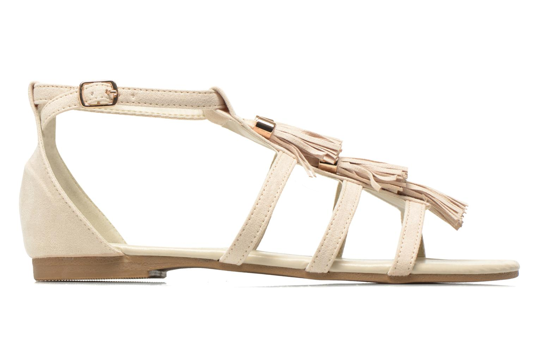 Sandals I Love Shoes Kilia Beige back view