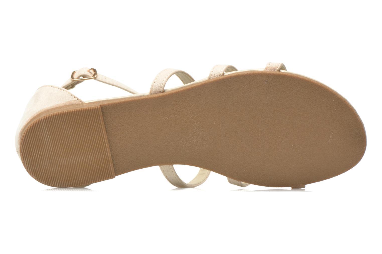 Sandales et nu-pieds I Love Shoes Kilia Beige vue haut