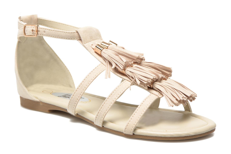 Sandals I Love Shoes Kilia Beige detailed view/ Pair view