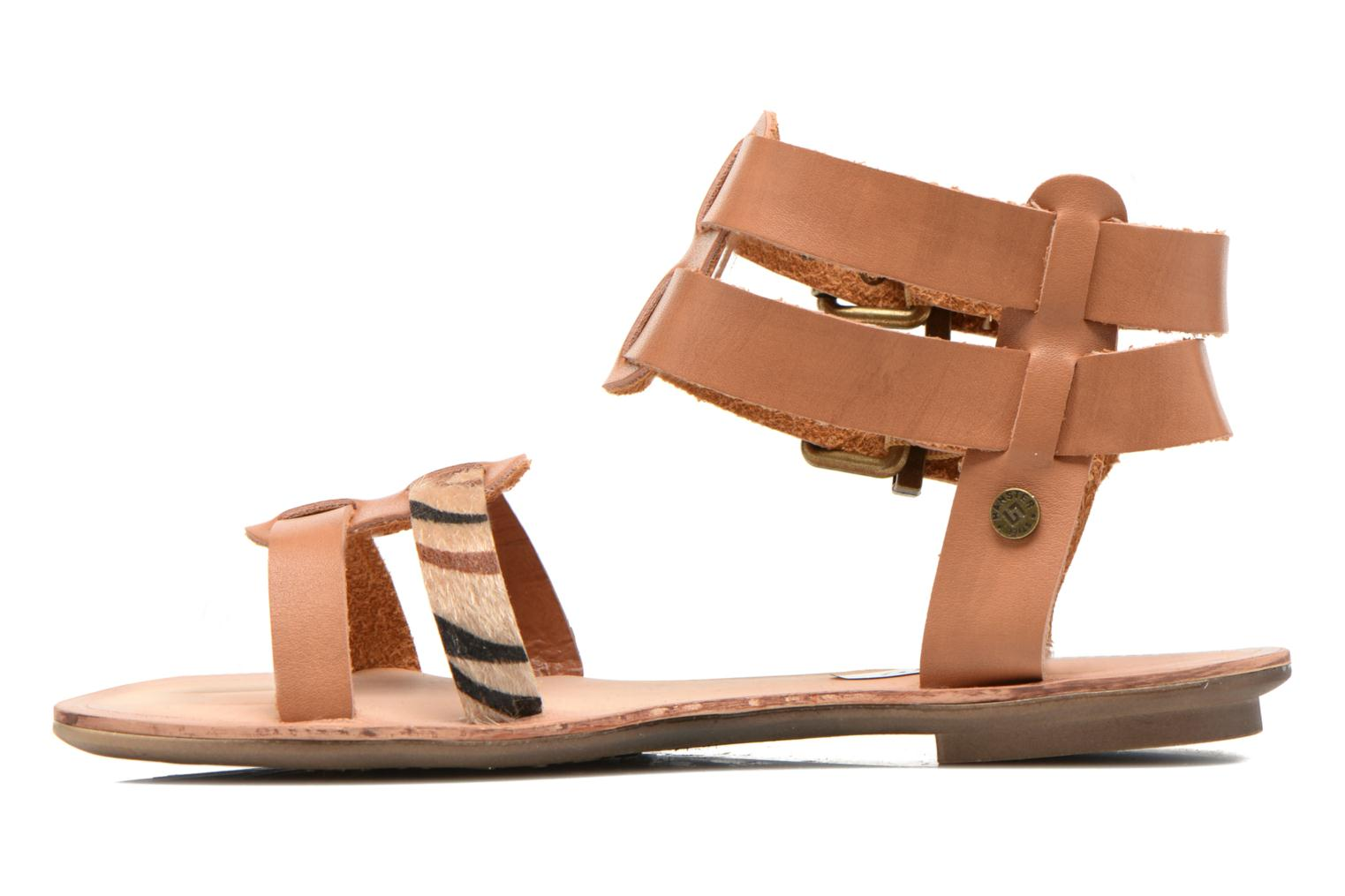Sandals I Love Shoes Kiro Brown front view