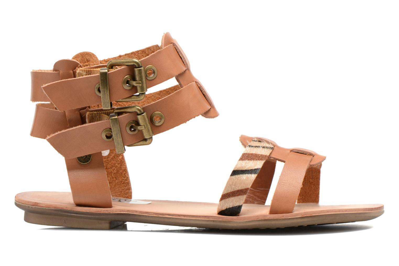 Sandalen I Love Shoes Kiro braun ansicht von hinten