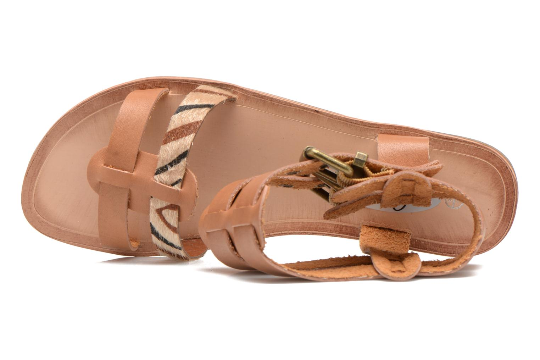 Sandalen I Love Shoes Kiro braun ansicht von links