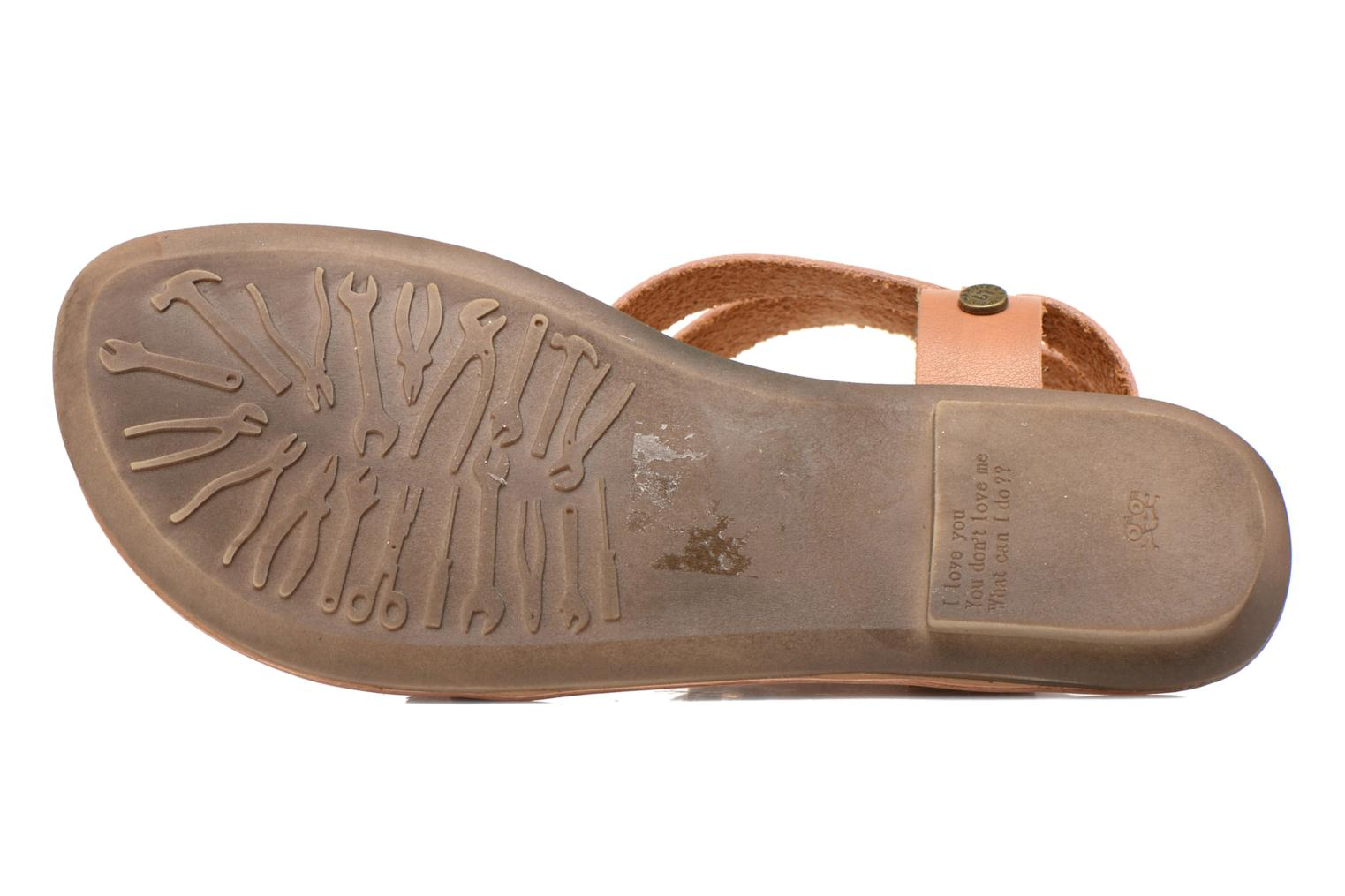 Sandals I Love Shoes Kiro Brown view from above