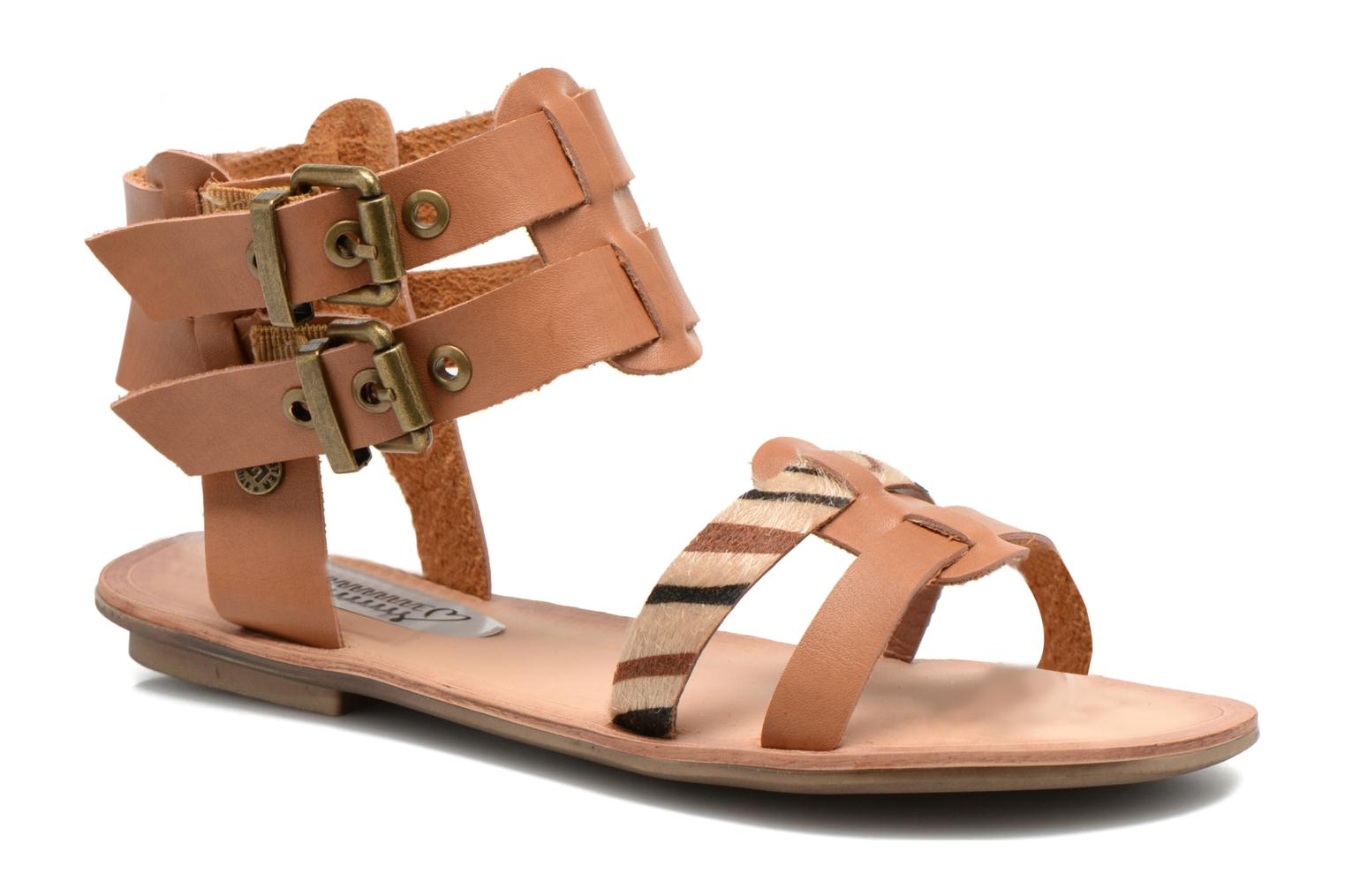 I Love Shoes - Damen - Kiro - Sandalen - braun fcA6PqK0Kg