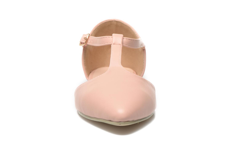 Ballerines I Love Shoes Kiba Rose vue portées chaussures