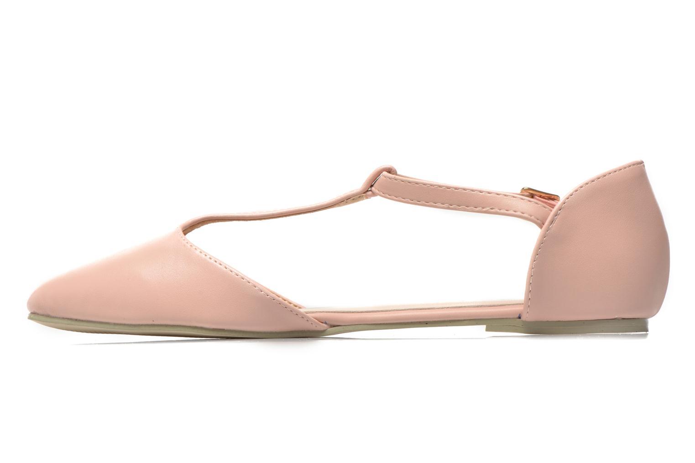 Ballerines I Love Shoes Kiba Rose vue face