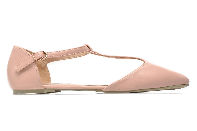 Ballerinaer I Love Shoes Kiba Pink se bagfra