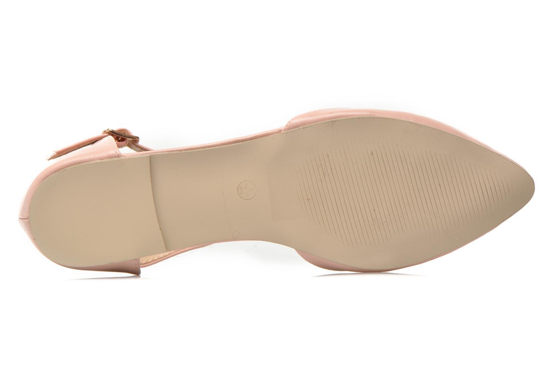 Ballerines I Love Shoes Kiba Rose vue haut