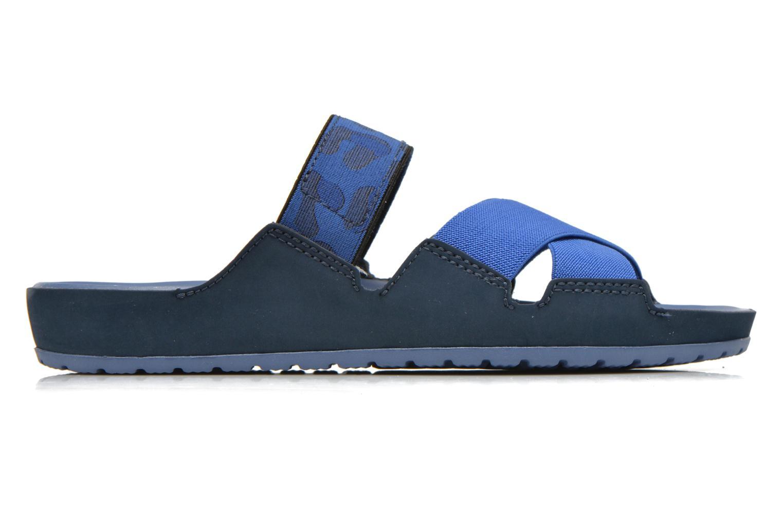 Mules et sabots Crocs Crocs Anna Slide Bleu vue derrière
